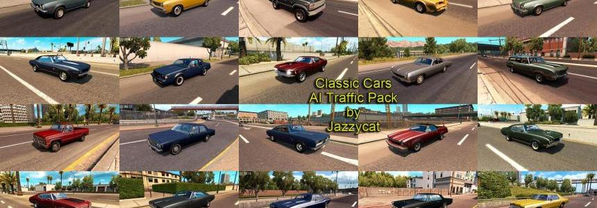 Classic Cars AI Traffic Pack v1.5