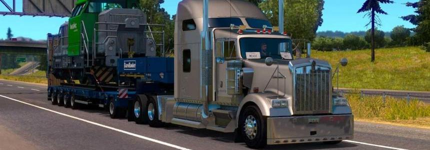 ETS2 HeavyCargo iN ATS v1.0
