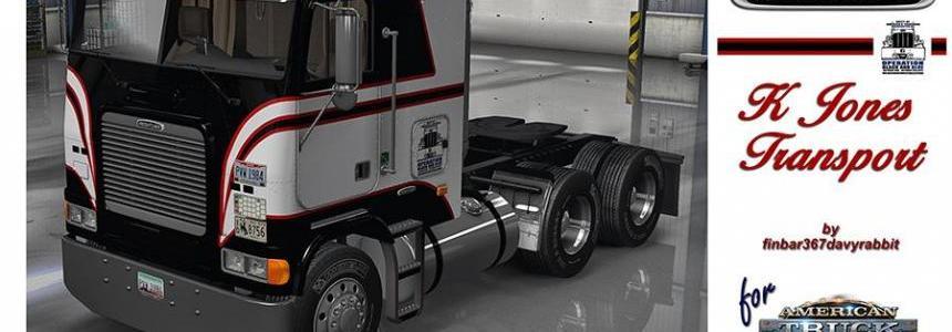 FLB Freightliner – K Jones Texture (HARVEN) v1.0