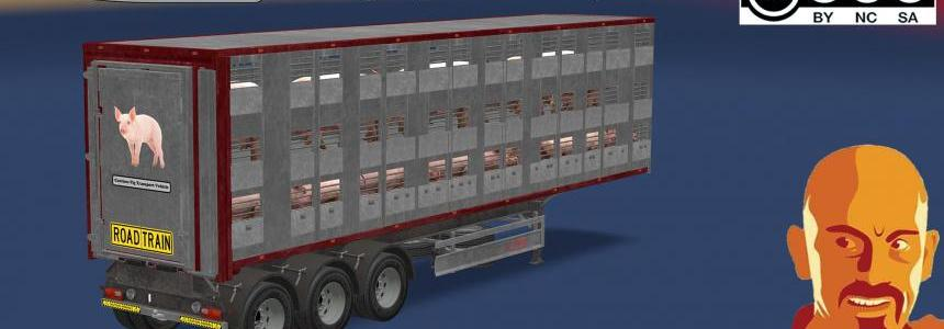 FLIEGL ANIMAL TRANSPORT (SINGLE & DOUBLE) ATS 1.28 - 1.29.x