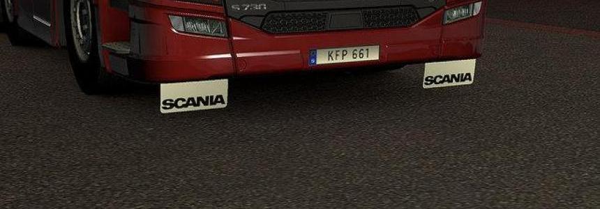 Front mudflaps Scania Next Gen v1.30