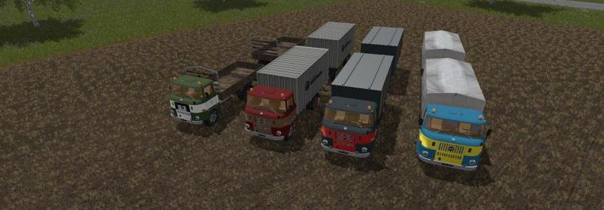 IFA W 50 Pack with trailer v1.0