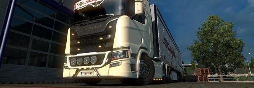 Improwed Cabin Scania S v1.0