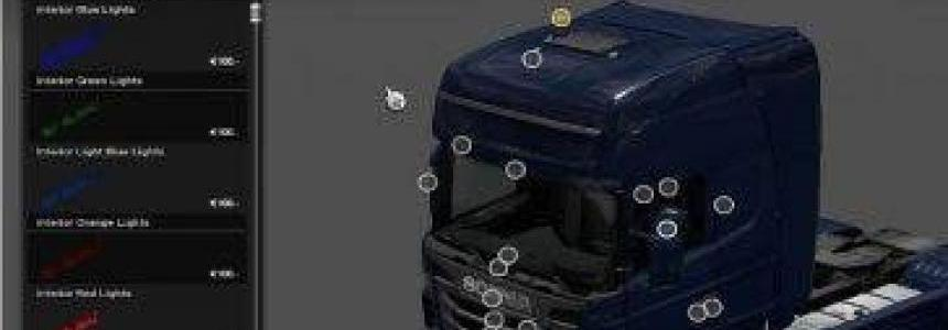 Interior Light for all Trucks v8.0 1.30