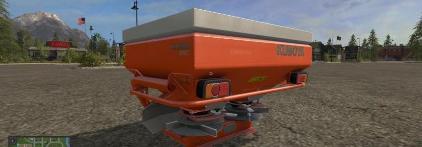 Kubota fertilizer spreader v1