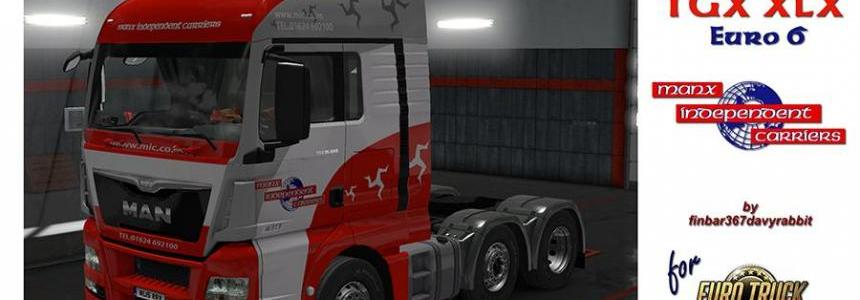 MAN TGX Euro 6 XLX – MAN X Independent Carriers Texture