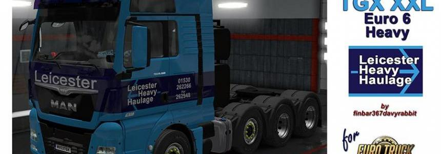 MAN TGX Euro 6 XXL Leicester Heavy Haulage Texture