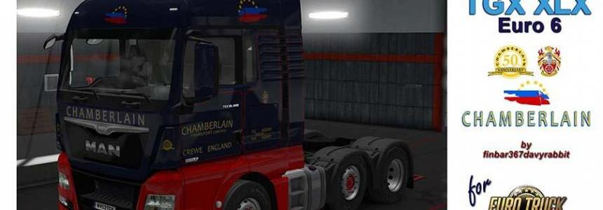 MAN TGX XLX – Chamberlain Transport Texture v1