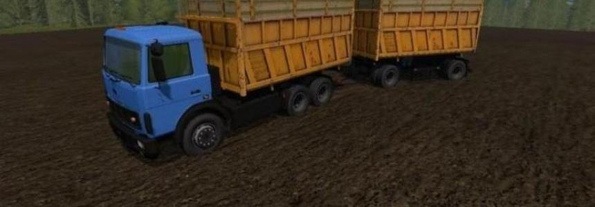 Maz 5516 with trailer v1.1