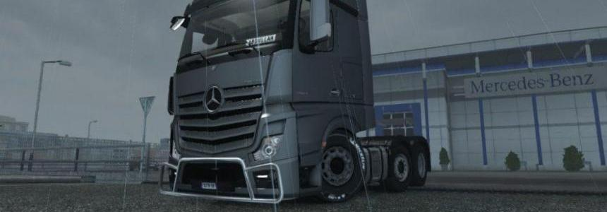 Mercedes Actros 2014 Low Chassis 1.30