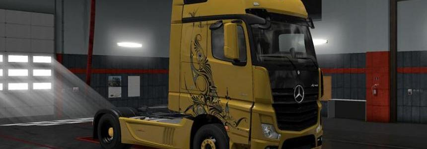 Mercedes Benz Actros 2014 Gold Tribal All versions