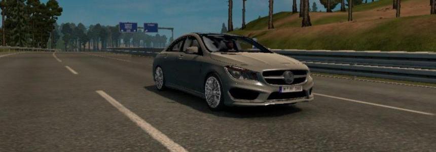 Mercedes Benz CLA v1.5 rework by Allan (Motorway Roads)