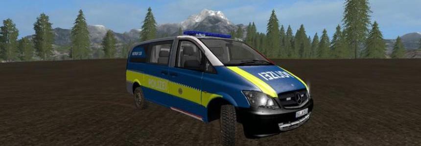 Mercedes Benz Vito Police Skin v1.0