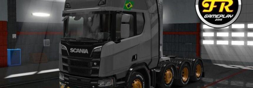 Mod Addon de chassis 8x2 scania R e S 2016 v1.0