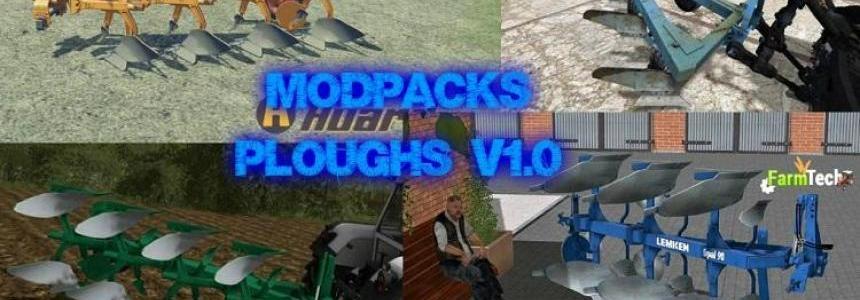 MOD PACKS PLOUGHS v1.0