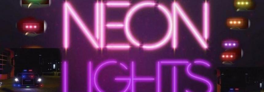Neon Lights for all scs Trucks 1.30