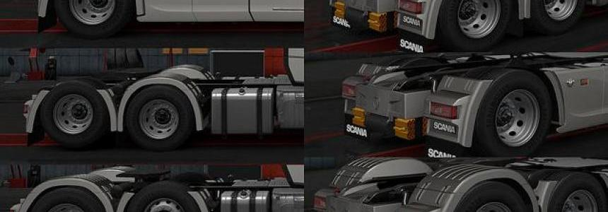 New Rear Fender Scania 2016 R and S v1.0