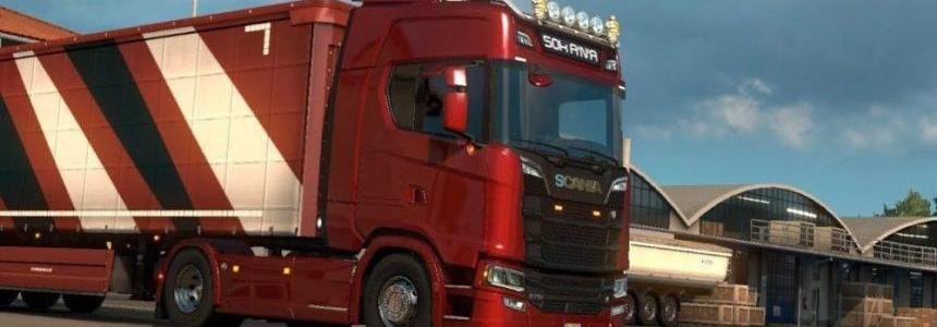 Next Gen Scania V8 Stock Sound Mod v4.0