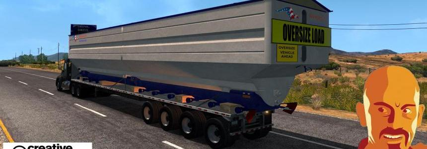 OVERSIZE TRAILERS U.S.A. (ETS2 version) 1.28 - 1.30.x