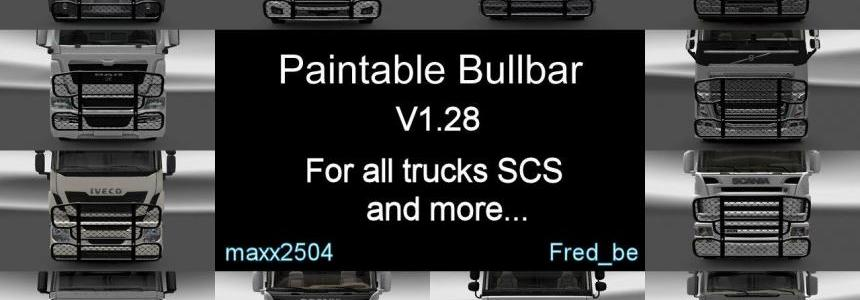Paintable Bullbar V1.28 [UPDATE] 1.28.Xs