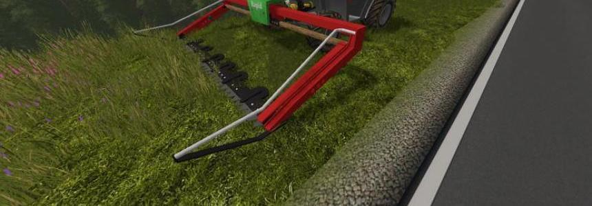 Rapid portal mower (cutterbar for Metrac / Terratrac) v1.0