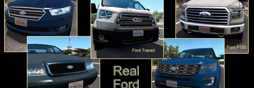 Real logos for default Ford Ai traffic cars