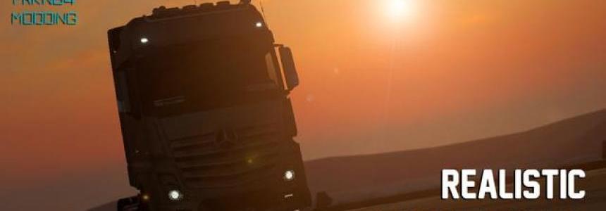 Realistic Truck Physics v5.2 1.28-1.30