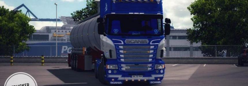 Scania Ghost Custom + Accessories 1.28.x