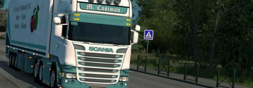 Scania M.Cooiman + Trailer 1.28.x
