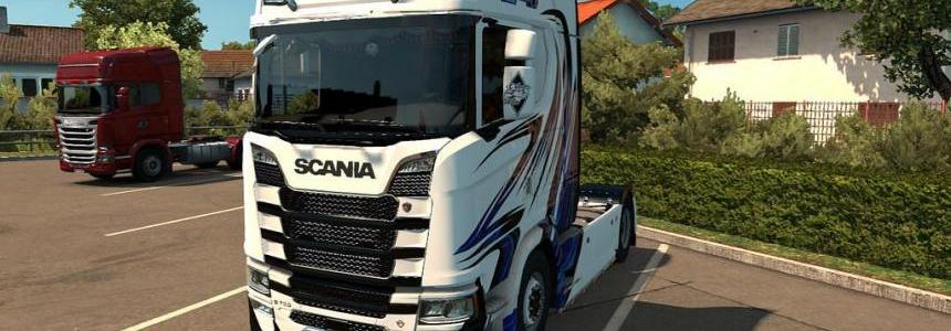 Scania New Gen Transport K.Lindholm & Co Skin