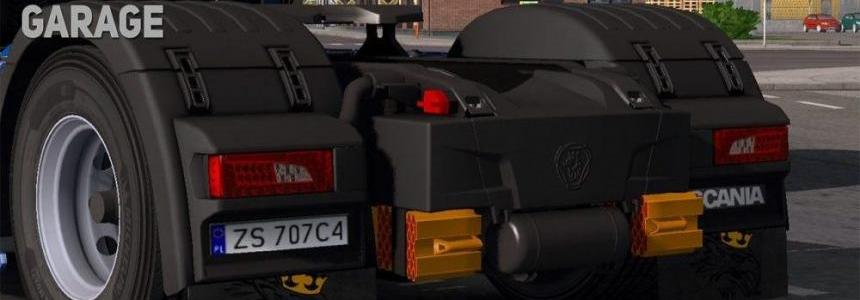 Scania New Generation Griffin Mudflaps 1.30