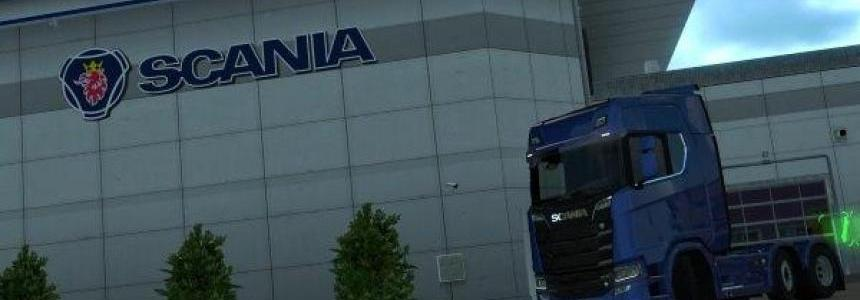 Scania NextGen from 1.30 on 1.28 by DaStrobel