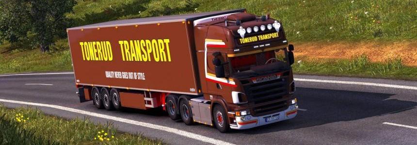 Scania R620 Tonerud + Trailer 1.28.x