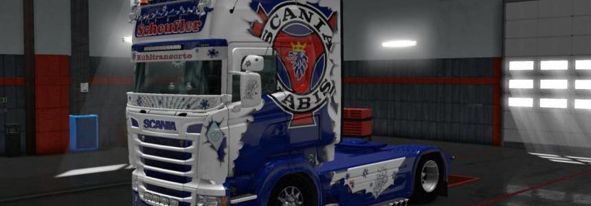 Scania RS RJL Scheufler skin [1.28.x]