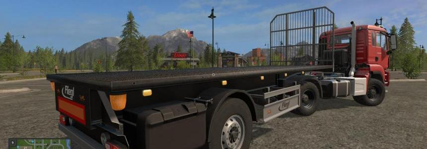 Short Flatbed Trailer UAL v1.0.0.0