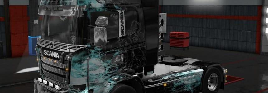 Skin Illustrations for Scania R & Scania Streamline