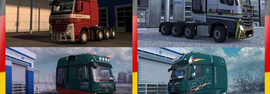 Skin Pack German Heavy Transport Company 1.28.x