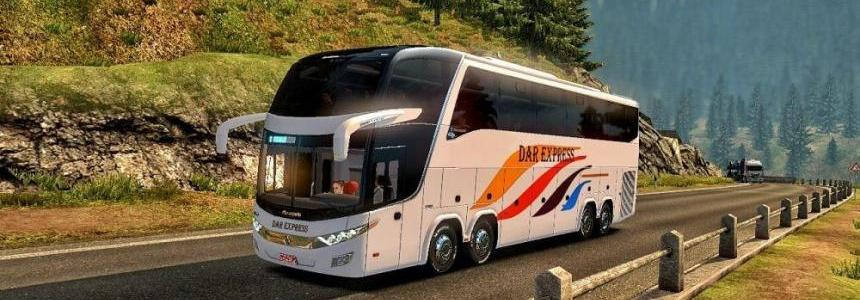 Tanzania Buses Skins for Marcopolo g7 v1.0