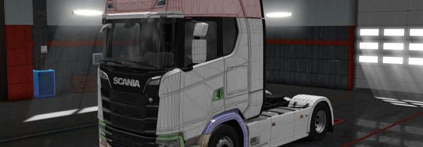 Templates for Scania R/S 2016 v1.0