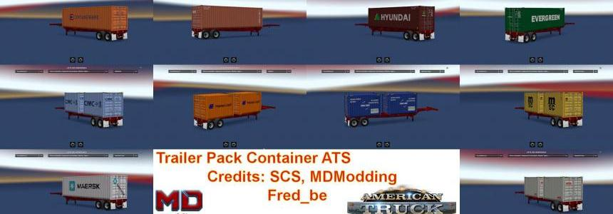 Trailer Pack Container V1.29 1.29.Xs
