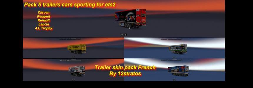 Trailers pack sport v1.0