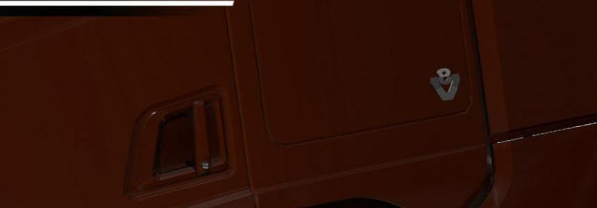 V8 Cabin badges for NextGen Scanias