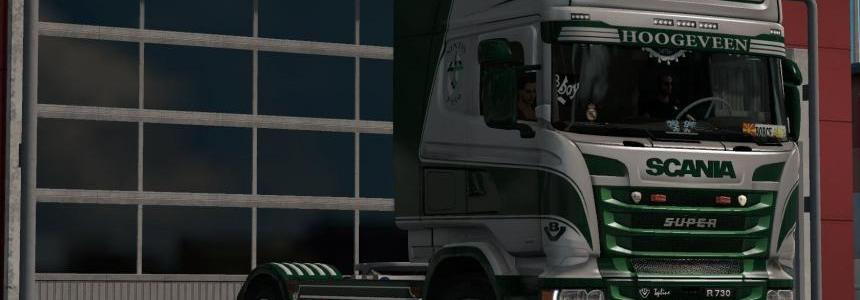 Van Triest Scania RJL Metalic Skin 1.28.x