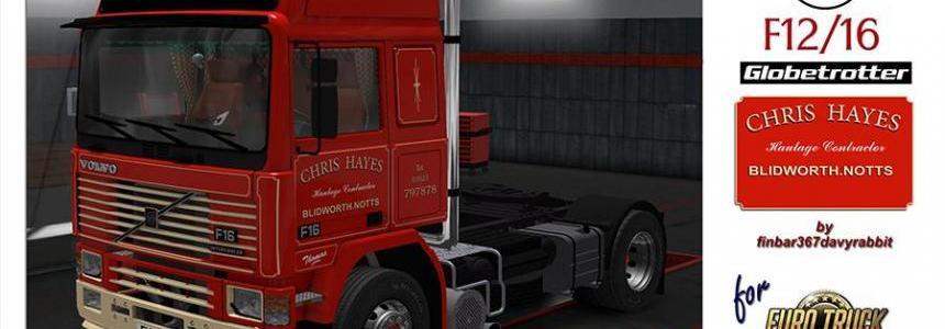 Volvo F12/16 Globetrotter of Chris Hayes v1.0