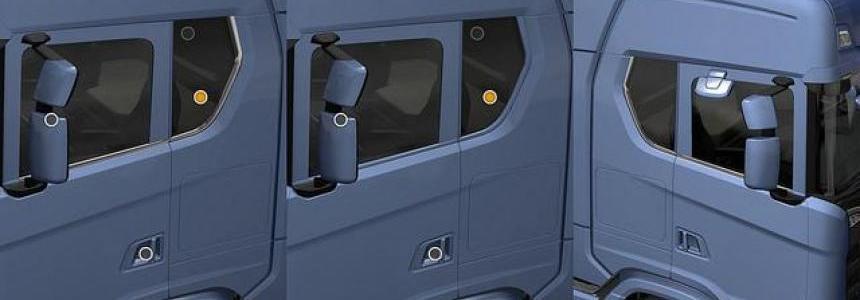 Window glass Scania Next Gen R & S 1.30.x
