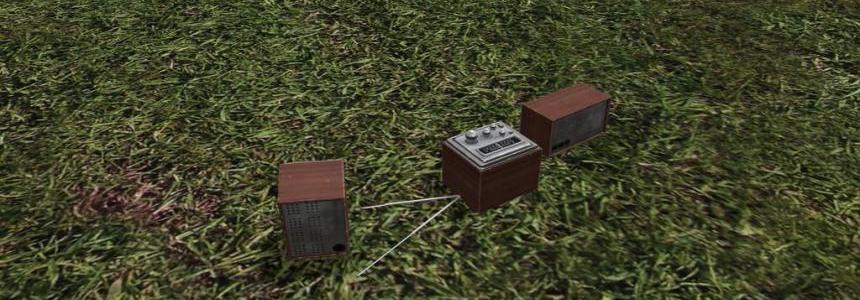 Wood Radios (Prefab) v1.0
