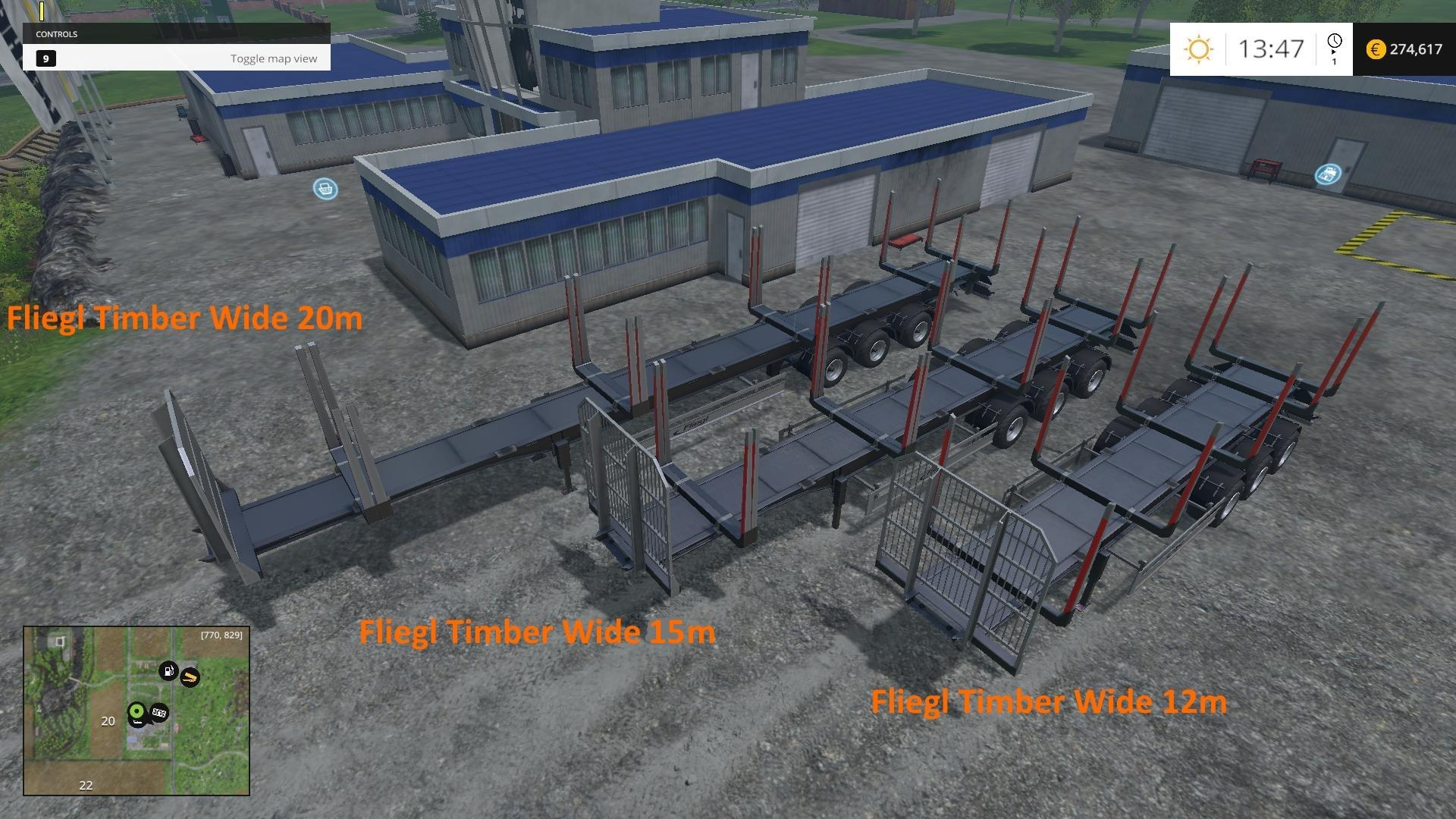 Fliegl Timber Runner Wide With Autoload v1 2 - Modhub us