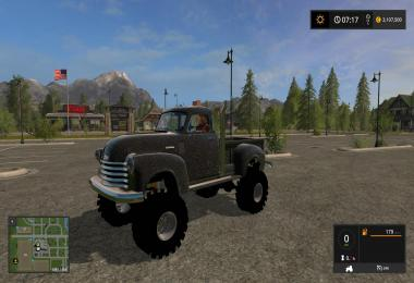 1950 Chevy 4x4 Pickup Truck v1.0