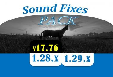 [ATS] SOUND FIXES PACK v17.76