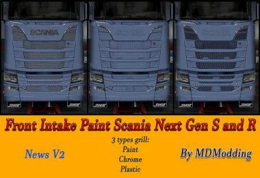 Front intake Paint scania Next Gen v2.0